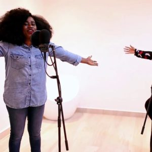 BellaNaija - Not Ashamed: Watch TY Bello's New Spontaneous Worship Session with George & Tolu Ijogun