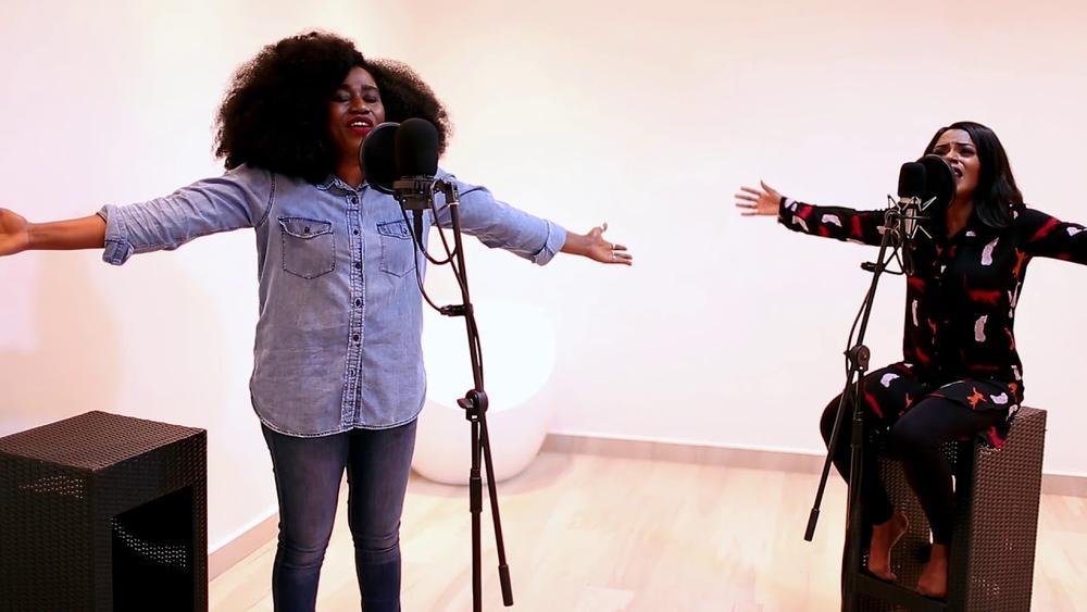BellaNaija - Not Ashamed: Watch TY Bello's New Spontaneous Worship Session with George & Tolu Ijogun
