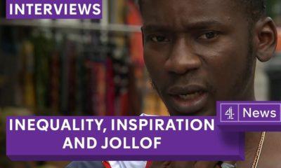 BellaNaija - Gambian Jollof over Nigerian or Ghanaian - Mr Eazi on Channel 4 | WATCH