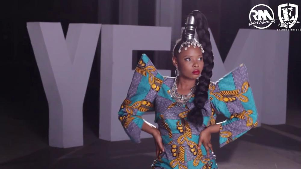 """BellaNaija - Mama Africa Unveiled! Go Behind-the-Scenes of Yemi Alade's Music Videos """"Knack Am"""" & """"Charliee"""" 