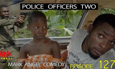 "BellaNaija - ""You shot Police Officers?!!"" ? - Watch this Hilarious Mark Angel Skit ""Police Officers Two"""
