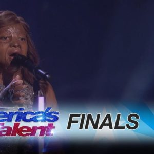 BellaNaija - Conqueror! Watch Kechi's uplifting performance on America's Got Talent Finals
