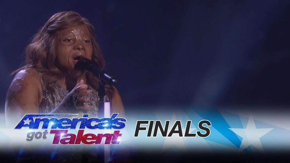 BellaNaija - Conqueror! Watch Kechi's uplifting performance on America's Got Talent Finals