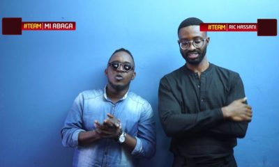 "BellaNaija - M.I & Ric Hassani face off on New Episode of ""Finish The Lyrics"" 