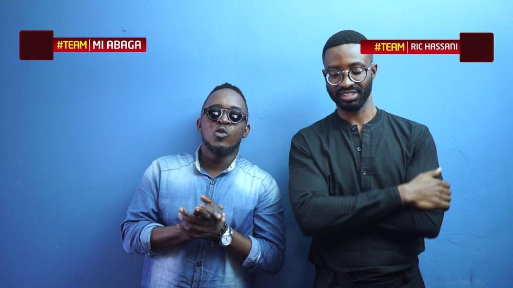 "BellaNaija - M.I & Ric Hassani face off on New Episode of ""Finish The Lyrics"" | WATCH"