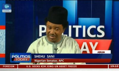 Why President Buhari hasn't declared his 2019 ambition - Senator Shehu Sani | WATCH - BellaNaija