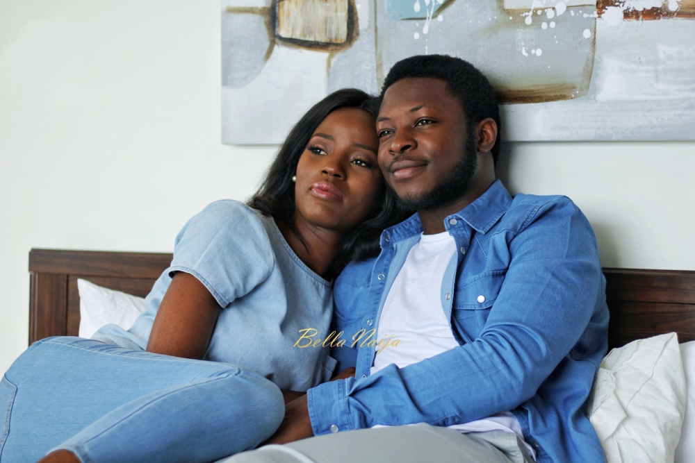 "From ""Cute Puppy"" to Hubby! Torera & Rotimi's Pre-Wedding Shoot, Love Story + Proposal Video"