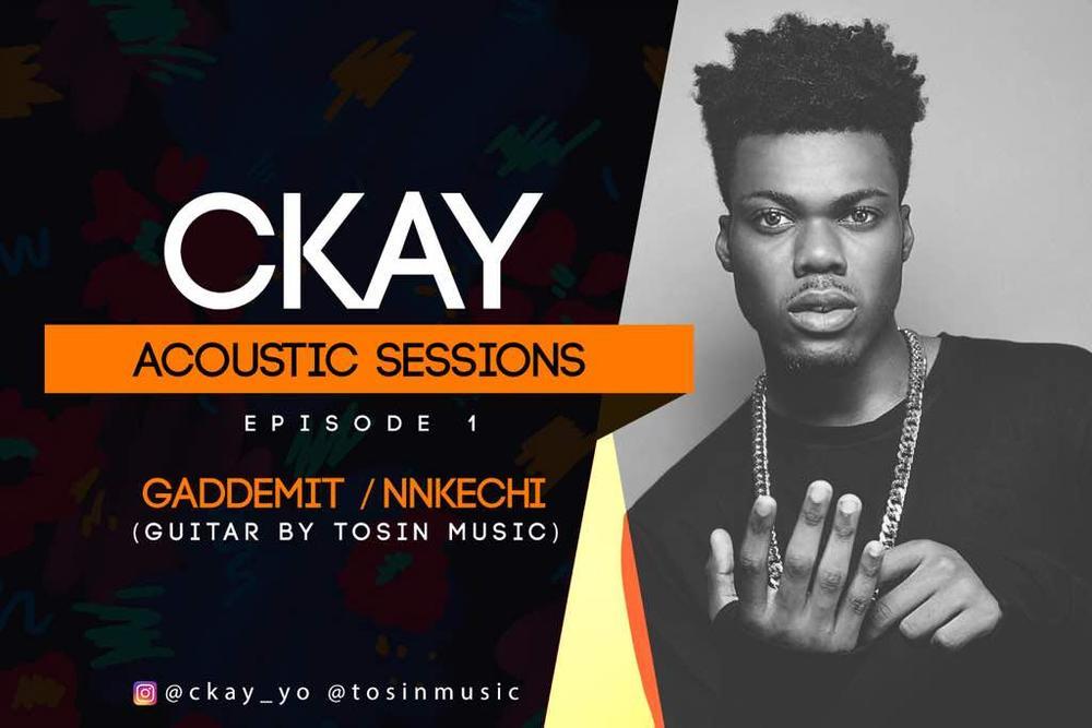 """BellaNaija - WATCH: Ckay drops Acoustic Mashup of """"Nkechi"""" and """"Gaddemit"""""""
