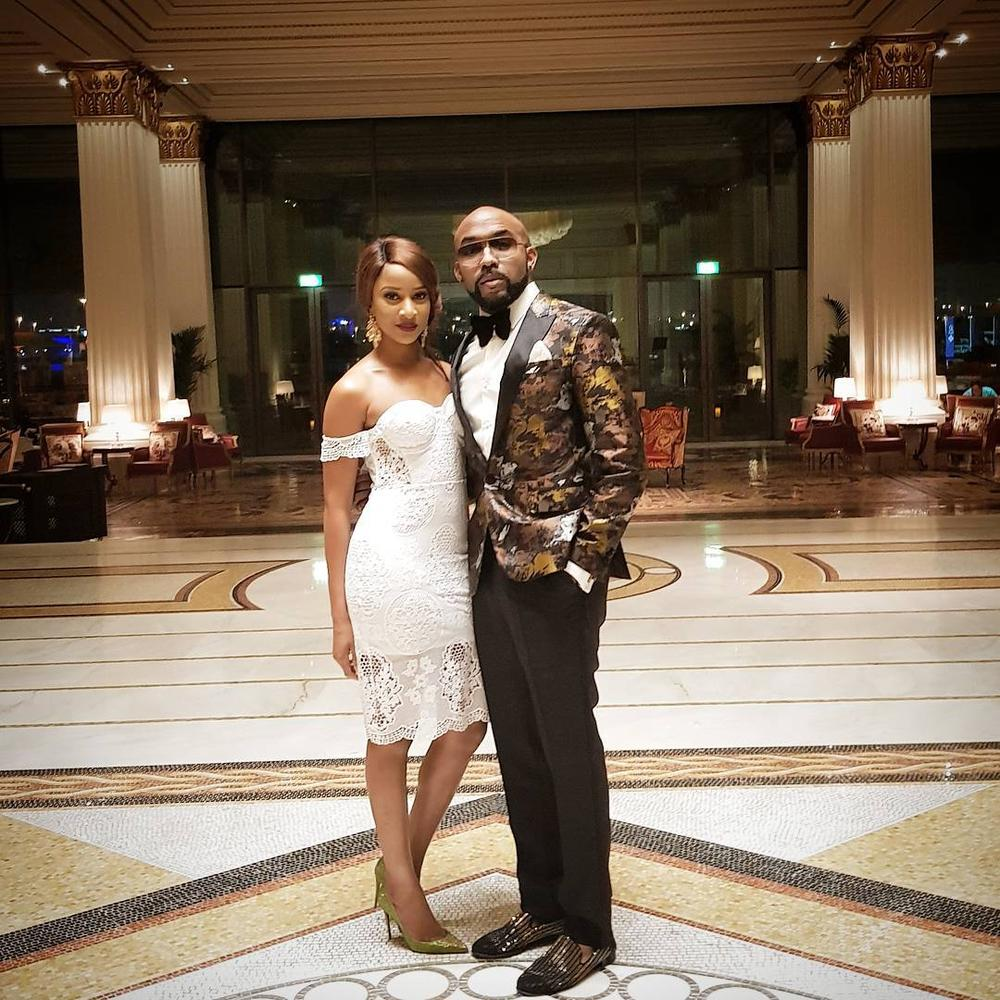 Mr & Mrs W! 💑 Watch Banky W & Adesua perform Lovely Duet on Stage 😍
