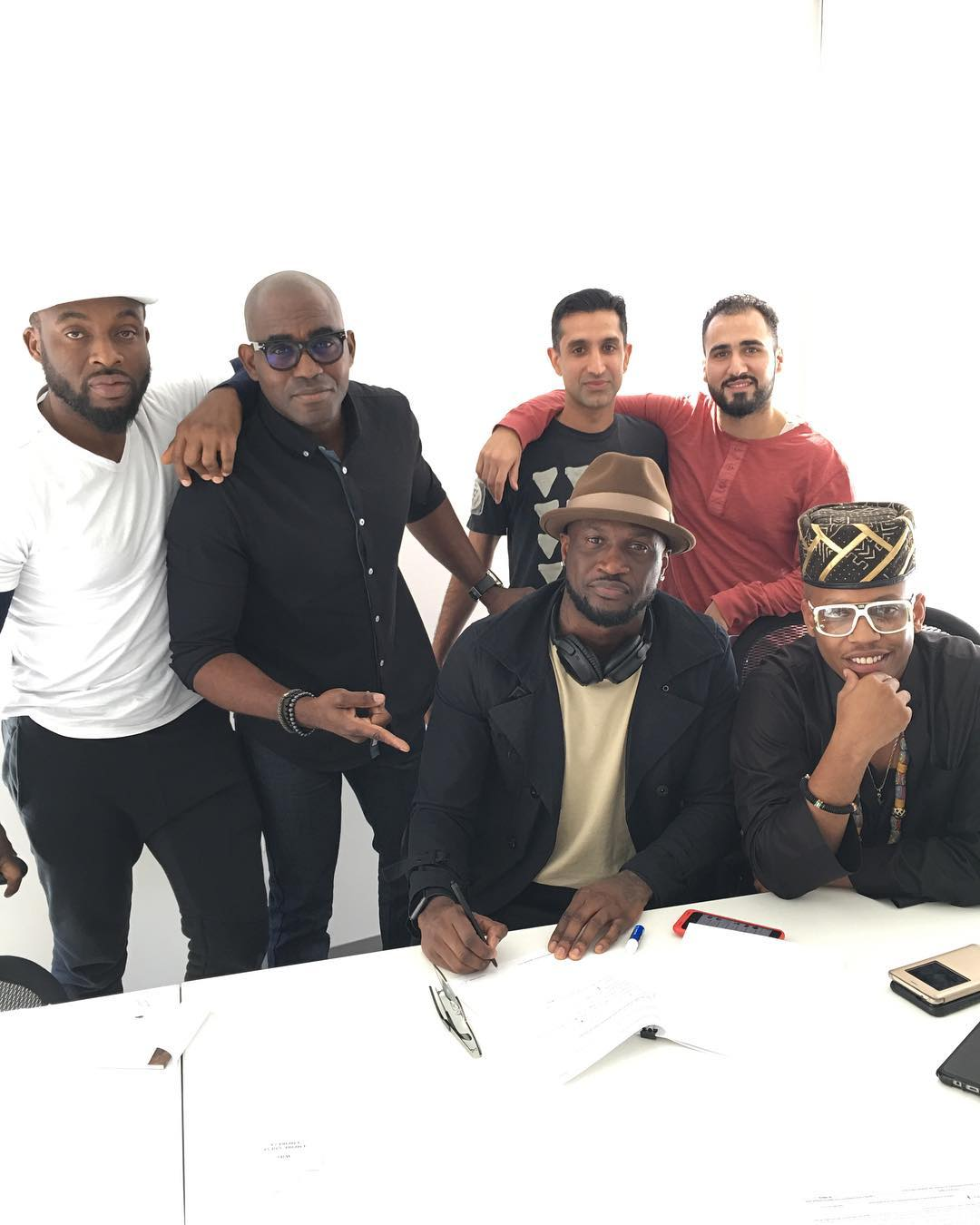 Peter 'Mr P' Okoye signs Deal with American Distribution Company & Record Label Empire