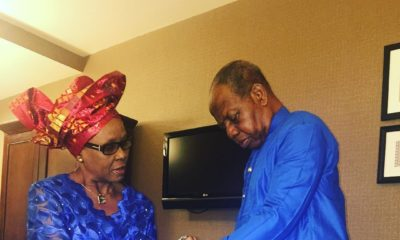 """Nigerian Comedian Foxy P's parents are real """"Relationship Goals"""" ?"""