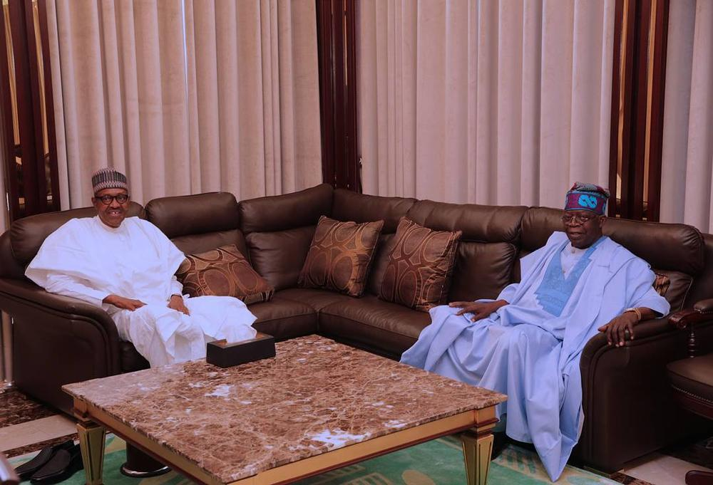 There is no Cabal in the Presidency - Tinubu after Meeting with Buhari