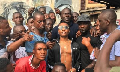 Ojuelegba Breed! Wizkid visits those who know his story ?
