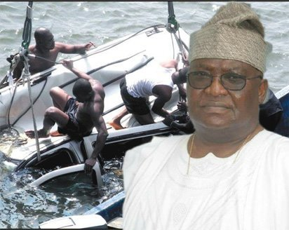 AVM Olufunsho Martins passes after Vehicle plunges into Lagoon - BellaNaija