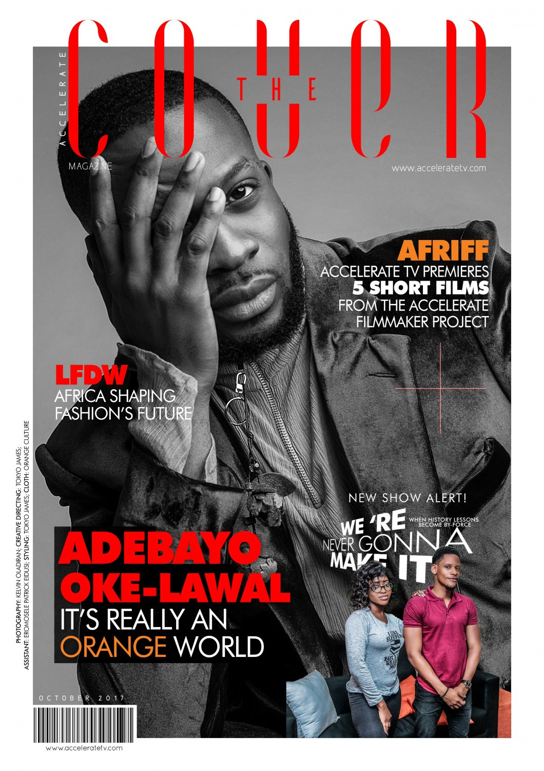 Adebayo Oke-Lawal Talks About His Collaboration with Davido As He Stars On Accelerate TV's #TheCover