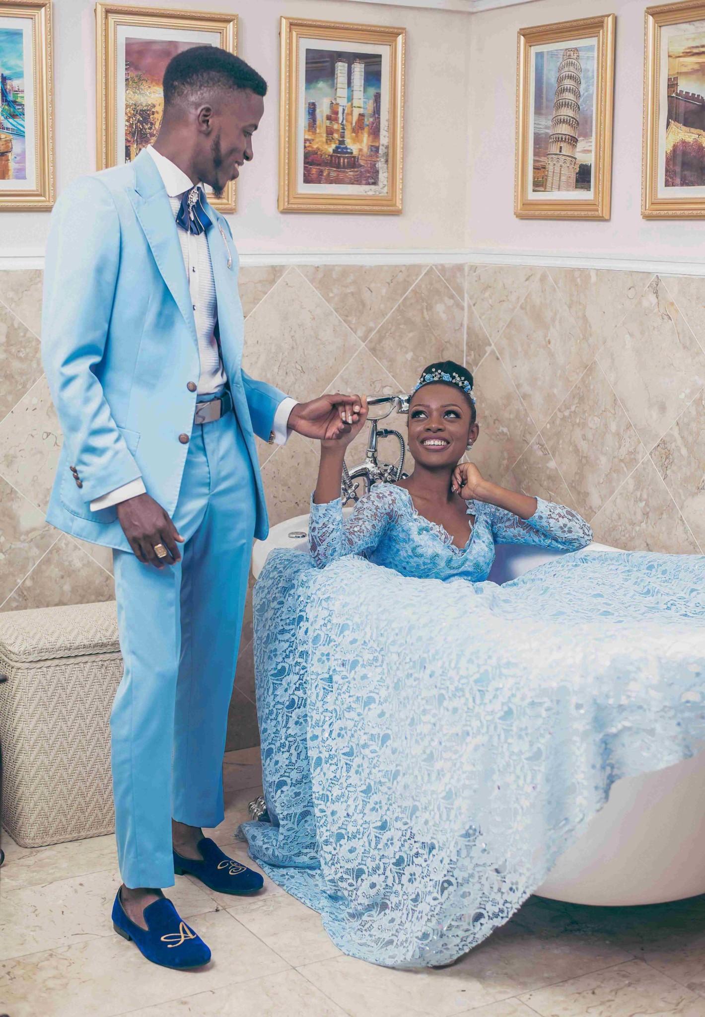 Akin Faminu & Tosin Sho-Silva take on Wedding Fashion