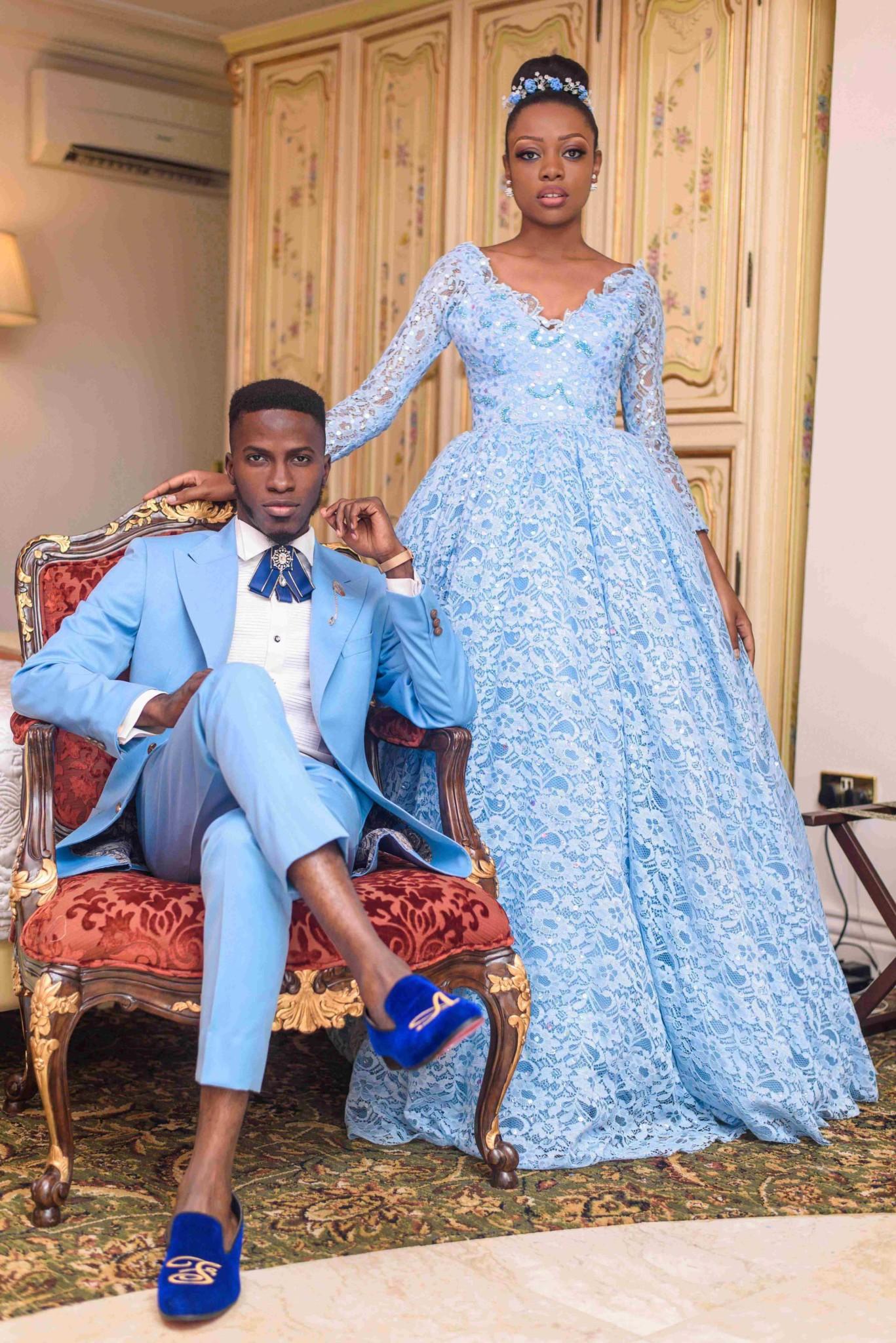 Akin Faminu Tosin Sho-Silva take on Wedding Fashion with a