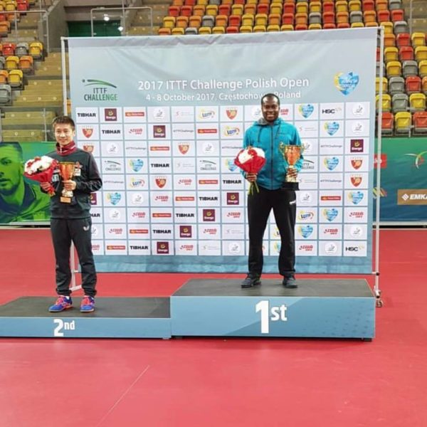 Aruna Quadri wins ITTF Polish Open - BellaNaija