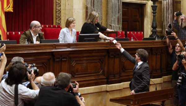Catalonia Lawmakers declare Independence from Spain - BellaNaija