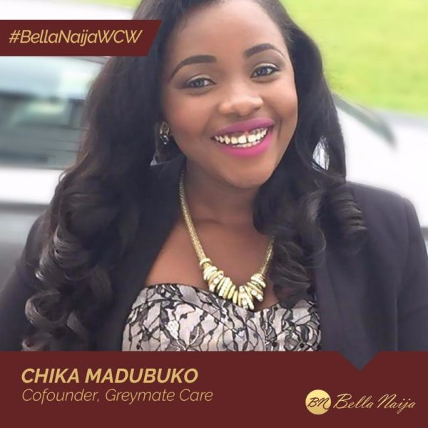 After a sad Personal Experience, Chika Madubuko started Greymate Care to help the Elderly & Vulnerable get in-home Nursing | #BellaNaijaWCW