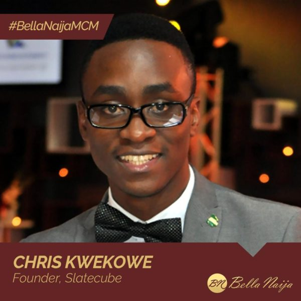 #BellaNaijaMCM Chris Kwekowe is using Slatecube to Upgrade Africa's Workforce