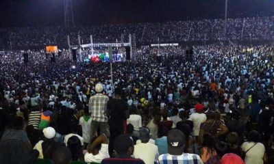 #30BillionAfricaTour: Davido sells out 50,000 capacity venue in Sierra Leone