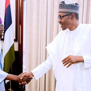 President Buhari meets with APC Chieftains in Aso Rock