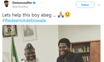 Celebrities trend #RedeemAdebowale for Final Year Student expelled from Redeemer's University - BellaNaija