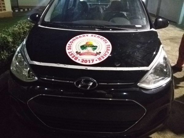 Fayose gifts 3 Ekiti State Teachers New Cars - BellaNaija