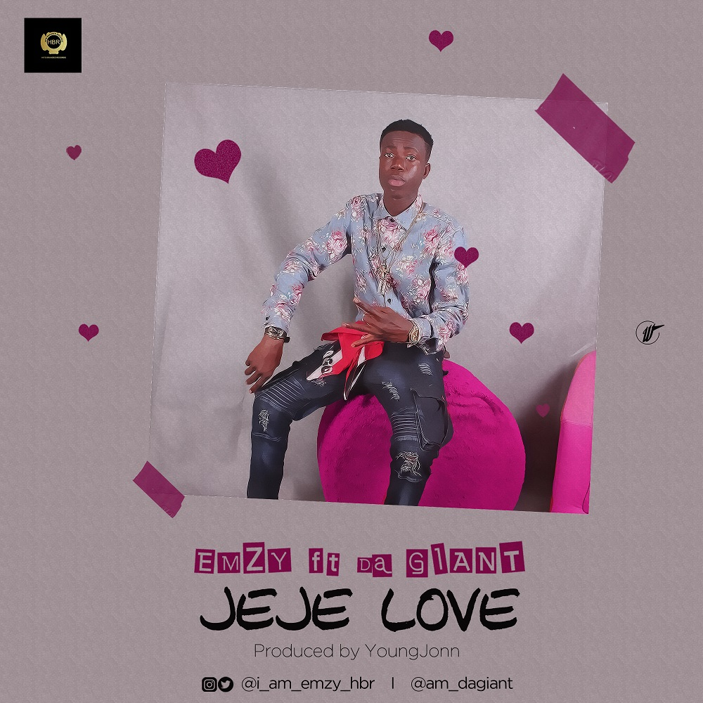 New Music + Video: Emzy feat. Da Giant - Jeje Love