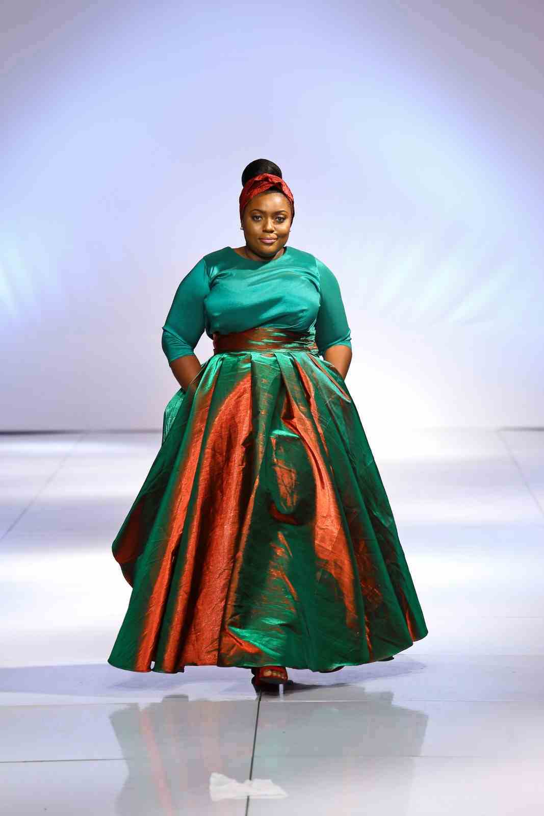Aboutthatcurvylife Collective Brought Plus Size Models Inclusive Fashion To Gafw2017 Music Africa Awake