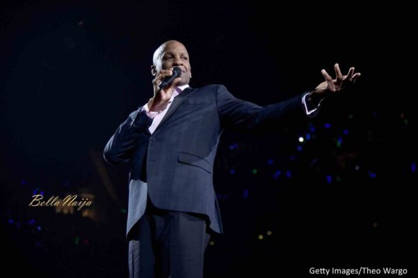 "Donnie McClurkin is ""still here by the grace of God"" after Car Accident 