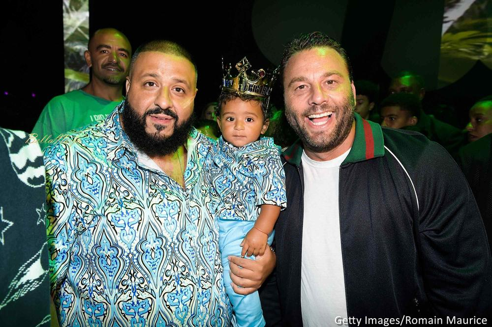 "A Lion and his Cub! 👑 DJ Khaled throws lavish ""Lion King"" themed Dance Party for Asahd's First Birthday"
