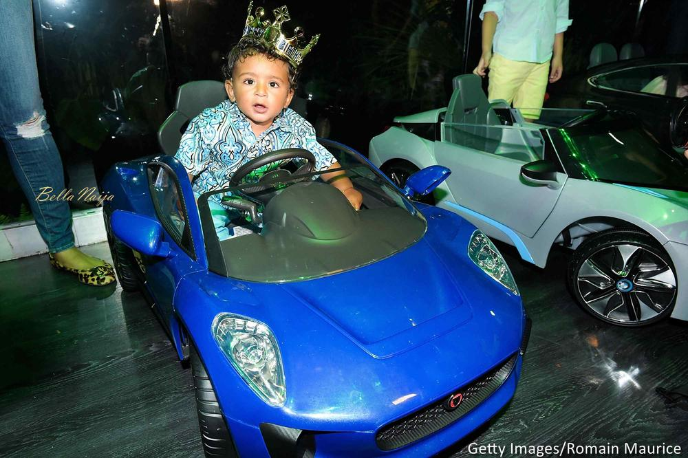 """A Lion and his Cub! ? DJ Khaled throws lavish """"Lion King"""" themed Dance Party for Asahd's First Birthday"""