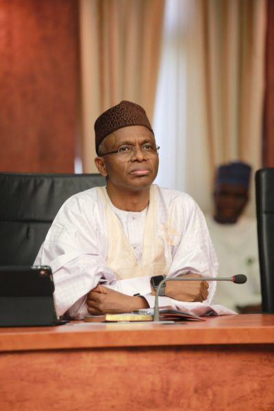 WATCH Governor El Rufai chase Kidnappers into Forest - BellaNaija