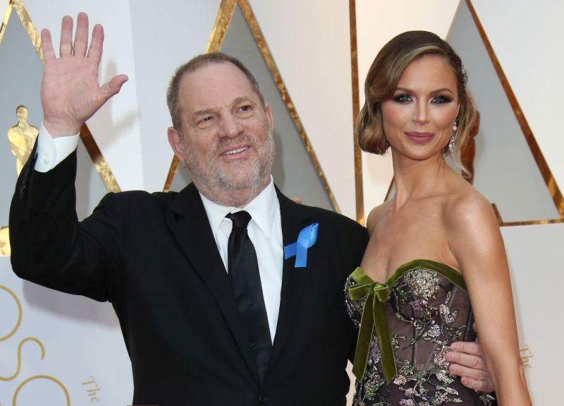 Harvey Weinstein wife Georgina Chapman is Leaving Him - BellaNaija