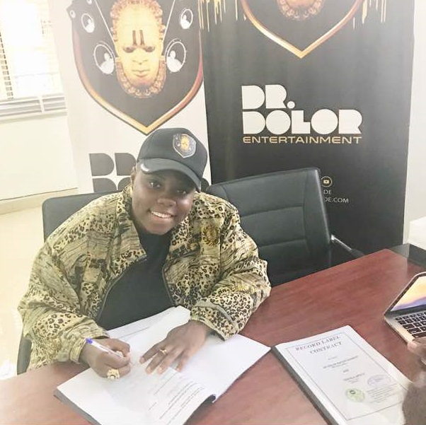 Singer Teni Entertainer gets signed to Dr Dolor Entertainment