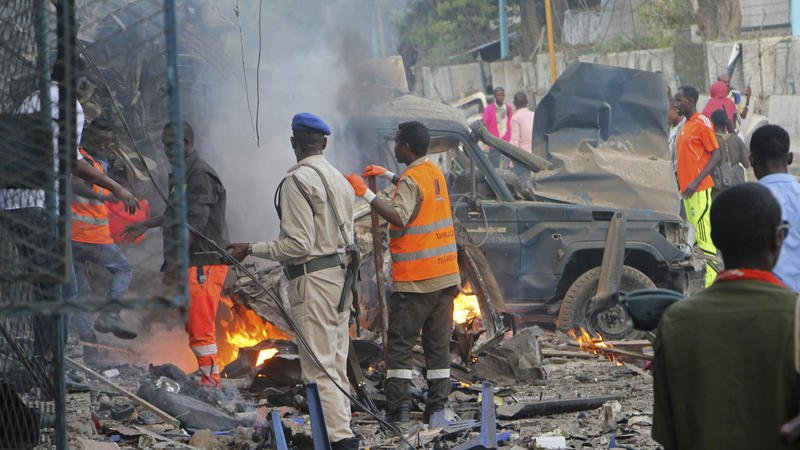 Suicide Bombing & Hotel Siege in Mogadishu leave at least 23 Dead - BellaNaija