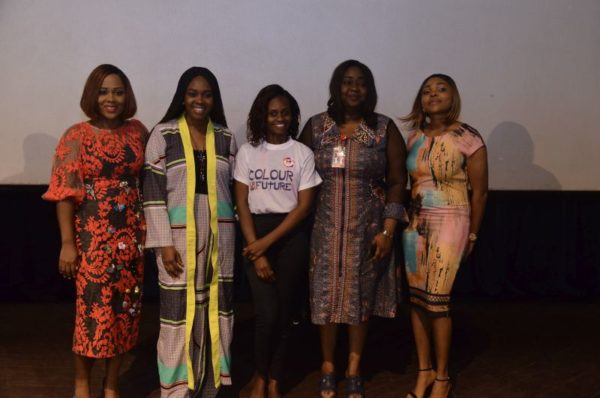 Joke Silva, Uche Pedro inspire over 1000 Girls at the University of Lagos in commemoration of International Day of The Girl-Child 2017 - BellaNaija