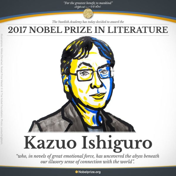 Kazuo Ishiguro Wins the Nobel Prize for Literature - BellaNaija