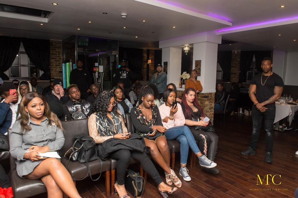Omo Alhaji Link Up! Ycee stops for Meet & Greet with fans in the UK