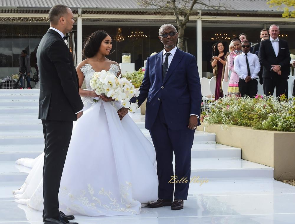 Celebrity weddings bella naija dresses