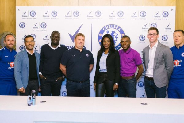 Rexona announces partnership with Chelsea Football Club