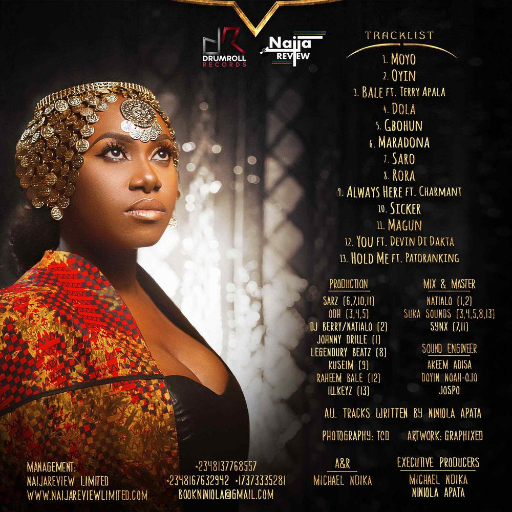 "Niniola unveils Cover Art & Tracklist for Debut Album ""This is Me"""