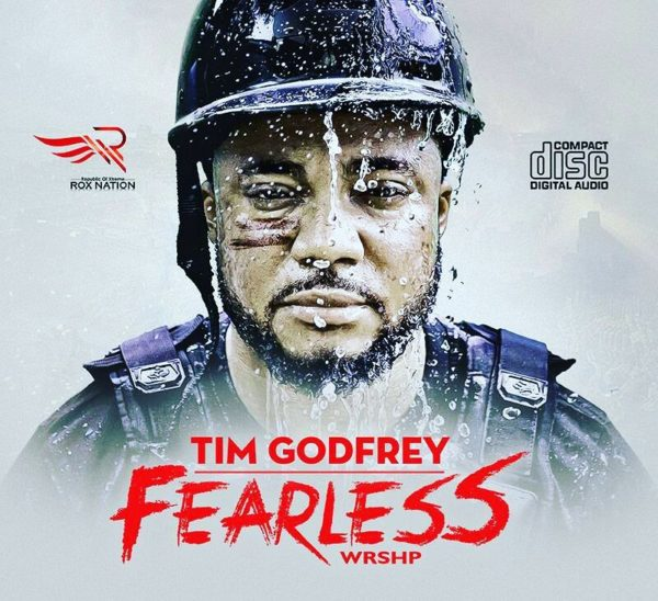 """Tim Godfrey unveils Cover Art for """"Fearless WRSHP"""" Album"""
