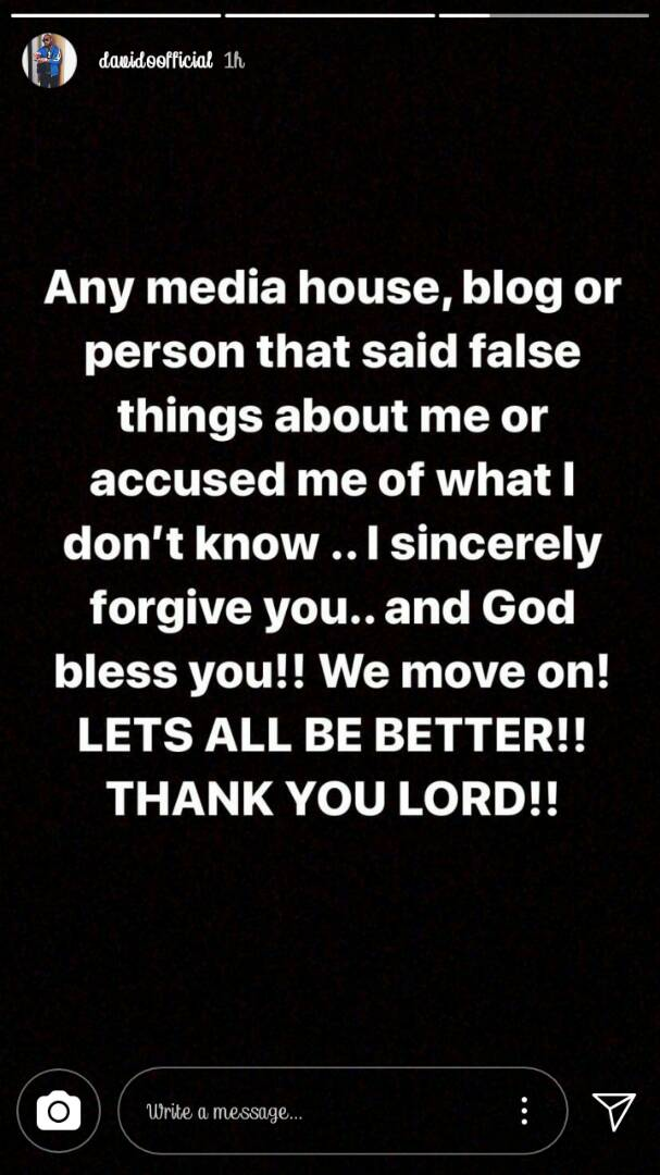 """Let's all be better"" - Davido thanks supporters and haters alike"
