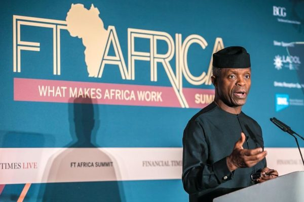 Read What Osinbajo Is Saying About Contesting For 2019 Presidency