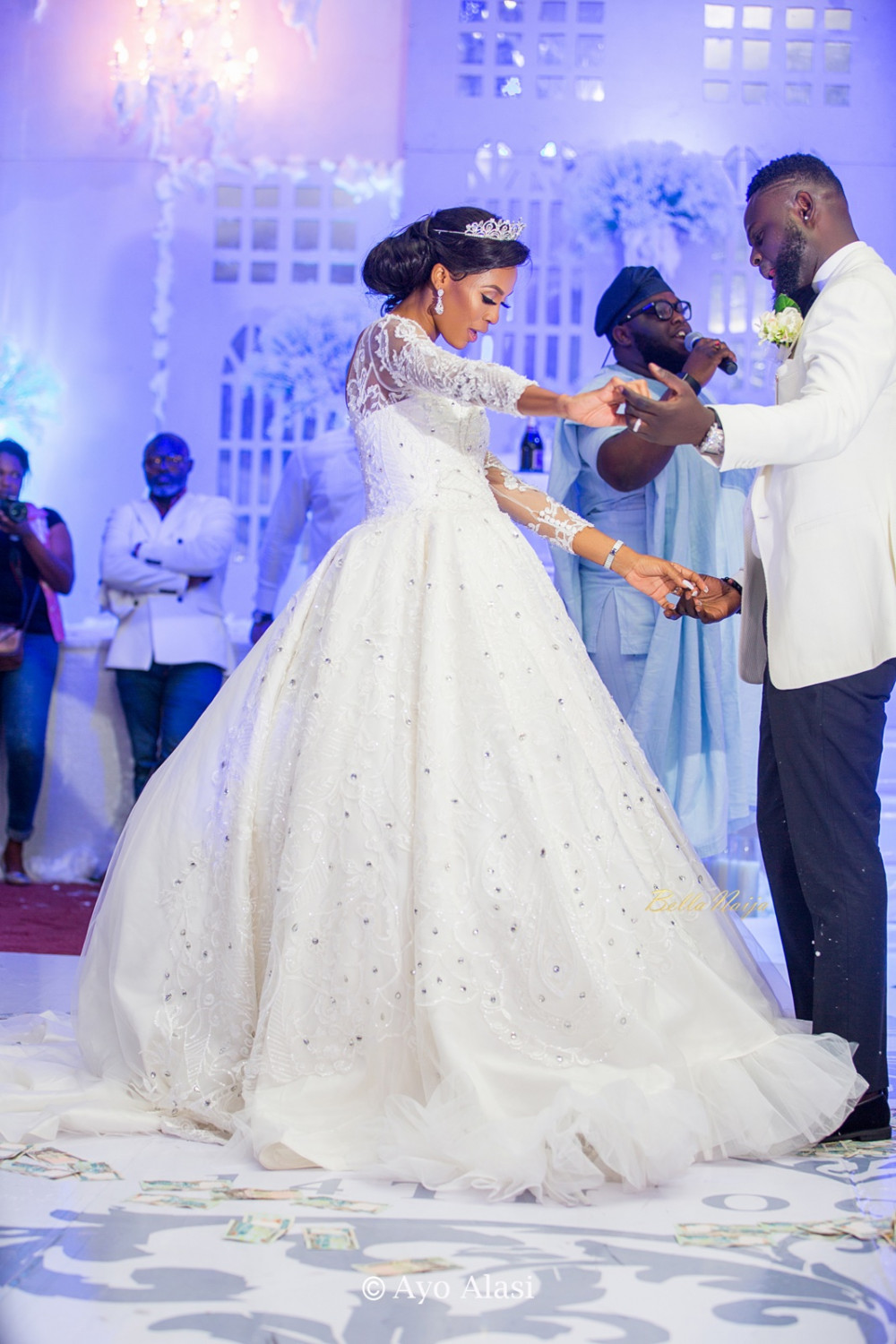 Yomi Casual Grace TheCasuals17 BellaNaija weddings 62