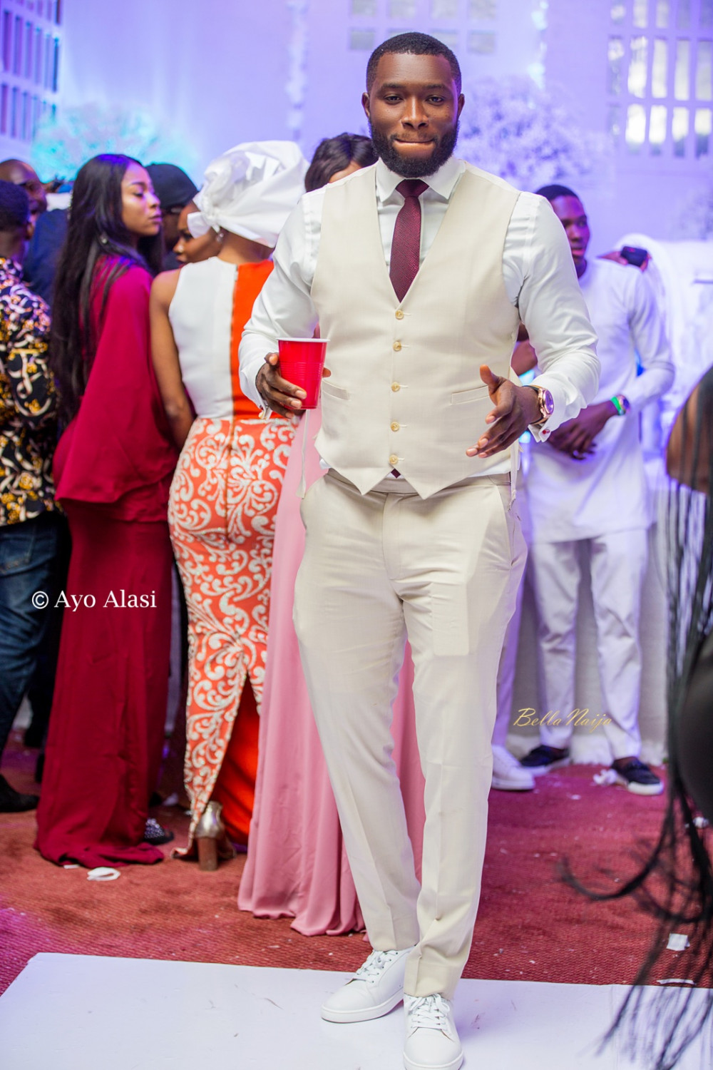Yomi Casual Grace TheCasuals17 BellaNaija weddings 66
