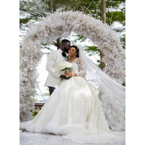 First Look! #TheCasuals17 Grace & Yomi Casual's Wedding